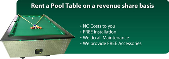 Pool Table Rentals And Revenue Sharing Active Amusements - Pool table rental dallas